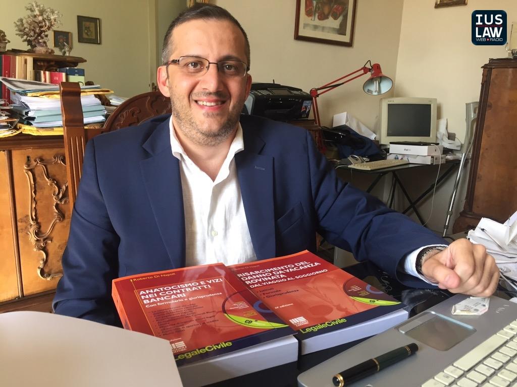 L\'Avv. Roberto di Napoli in materia di USURA BANCARIA - IusLaw Web Radio