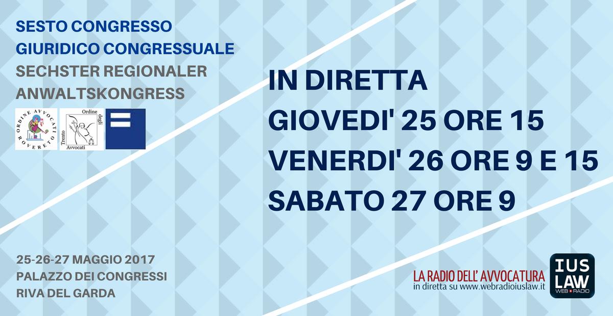 Sesto Congresso Giuridico Distrettuale Rovereto-Trento-Bolzano Riva ... e0c3cb13472b