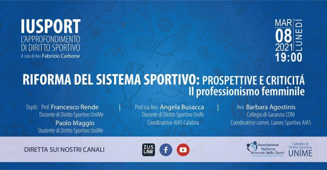 IuSport 8 marz
